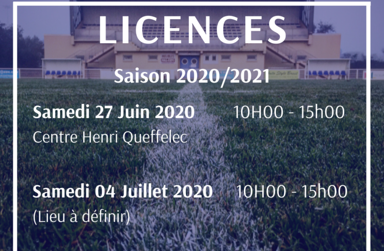 Licences – Modifications