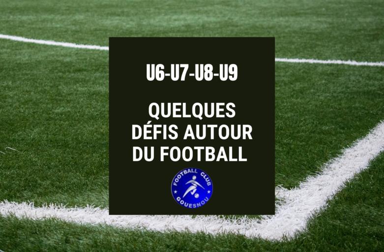 Défis techniques – École de foot