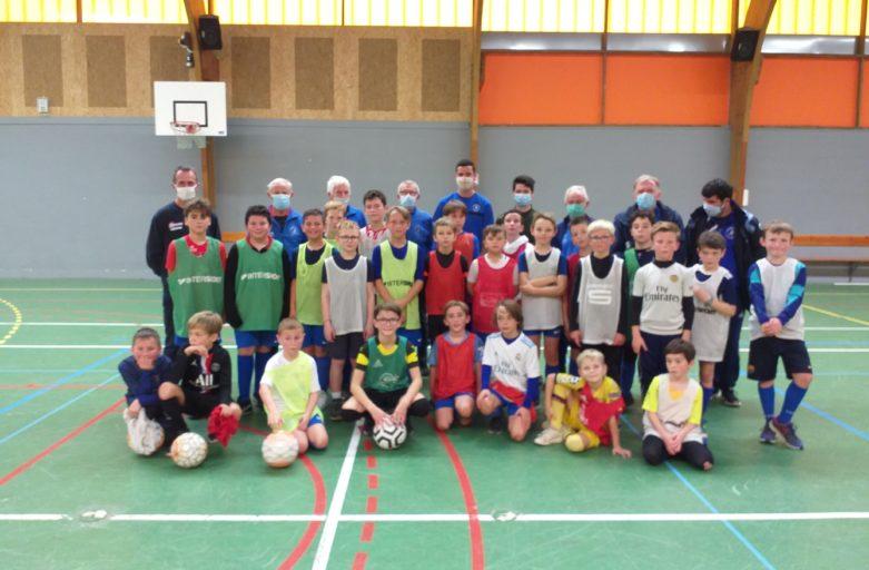Stage de football à Gourmelon et au Crann pour les U11 et U13