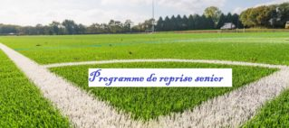 Programme de reprise Senior