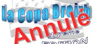 COPA BREIZH 2021 – ANNULATION